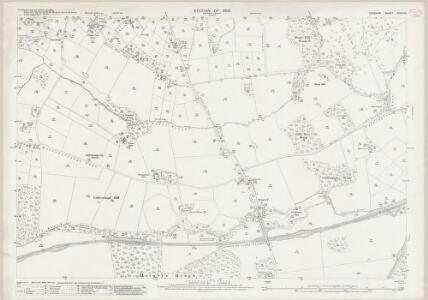 Cheshire XXXIII.14 (includes: Crowton; Cuddington; Norley; Oakmere) - 25 Inch Map