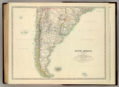 South America (southern sheet).