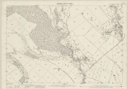 Shropshire LXIV.11 (includes: Diddlebury; Munslow) - 25 Inch Map