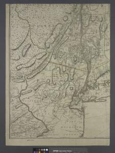 Province de New-York : en 4 feuilles / par Montrésor.