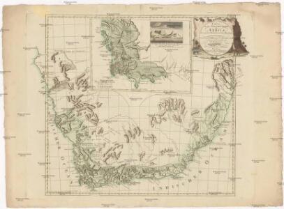 Carte von der südlichen Spitze von Africa bis zu dem Wendekreise des Steinbocks