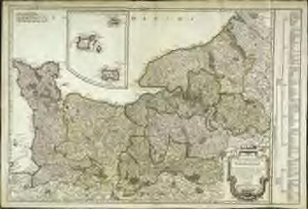 Carte du gouvernement de Normandie