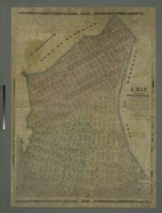 A map of the village of Williamsburgh, Kings County, N.Y. : showing each lot of ground in said village, as laid down on the assessment of the village, together with the assessment number of each lot / made by Isaac [V]ieth, under the supervision of Henry