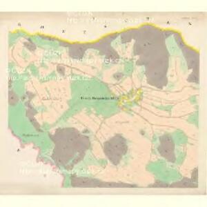 Althütten - c7262-1-004 - Kaiserpflichtexemplar der Landkarten des stabilen Katasters