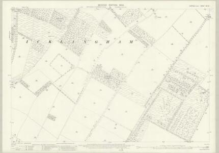 Suffolk XXI.16 (includes: Icklingham) - 25 Inch Map