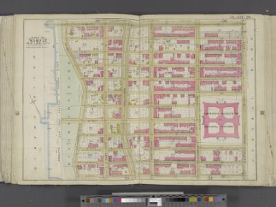 Manhattan, Double Page Plate No. 26 [Map bounded by W. 86th St., Central Park W., W. 75th St., Hudson River]