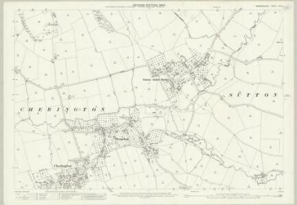 Warwickshire LVII.2 (includes: Brailes; Cherington; Stourton; Sutton Under Brailes) - 25 Inch Map