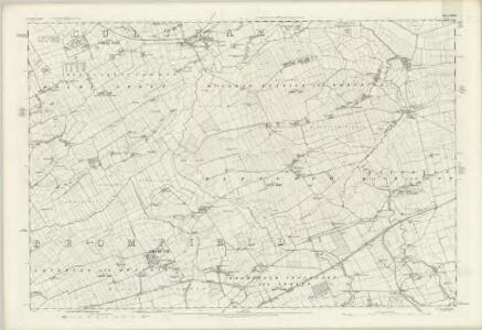 Cumberland XXVIII - OS Six-Inch Map