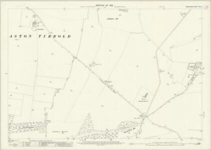 Berkshire XXII.5 (includes: Aston Tirrold; Cholsey; Moulsford) - 25 Inch Map