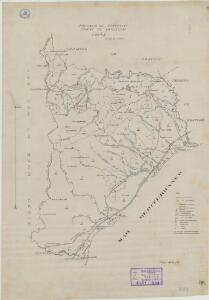 Mapa planimètric de Vandellòs
