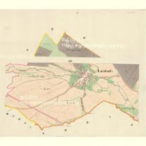 Lautsch (Mlats) - m1827-1-001 - Kaiserpflichtexemplar der Landkarten des stabilen Katasters
