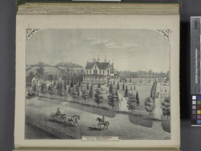Residence of Edwin Parmelee, Bullville, Orange Co.,   N.Y.