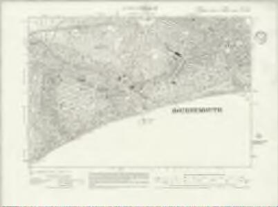 Dorset XLIV.SE - OS Six-Inch Map