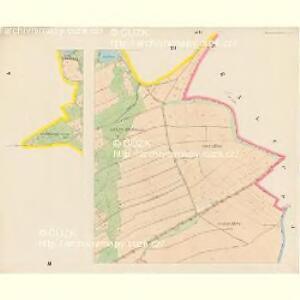 Brunnersdorf (Pronirow) - c6148-1-004 - Kaiserpflichtexemplar der Landkarten des stabilen Katasters