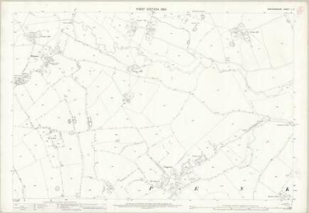 Staffordshire L.2 (includes: Penkridge) - 25 Inch Map