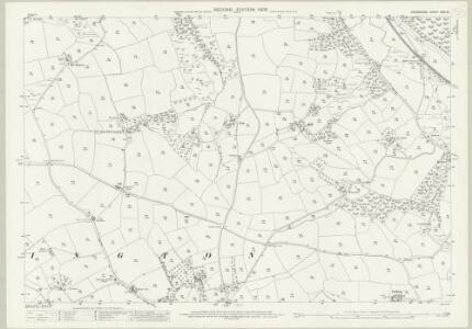 Devon XXXI.10 (includes: Burrington; Chittlehamholt) - 25 Inch Map