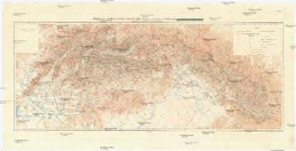 Přehledná hydrografická mapa povodí Dunaje a Visly na Slovensku