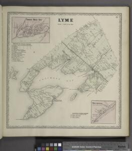 Three Mile Bay [Village]; Three Mile Bay Business Directory. ; Lyme [Township]; Wilcoxville Business Directory. ; Wilcoxville [Village]