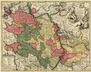 Exactissima Tabula Sedis Belli Palatinatus ad Rhenum Vormaciensis et Spirensis Episcopatus, Bipontini Ducatus