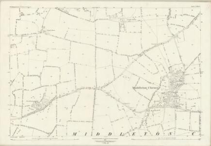 Northamptonshire LVIII.6 (includes: Banbury; Chalcombe; Middleton Cheney) - 25 Inch Map