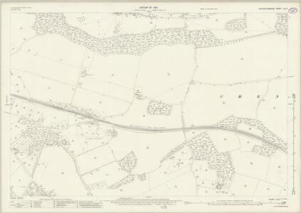 Buckinghamshire XLIII.7 (includes: Amersham; Chalfont St Giles; Chenies) - 25 Inch Map