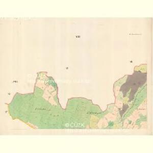 Alt Hrosenkau (Stary Hrasenkow) - m2868-1-007 - Kaiserpflichtexemplar der Landkarten des stabilen Katasters