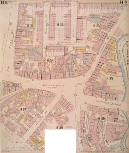 Insurance Plan of London East South East District Vol. H: sheet 8-1