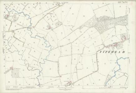 Somerset LXXXV.2 (includes: Fifehead Magdalen; Henstridge; Kington Magna; Marnhull; West Stour) - 25 Inch Map