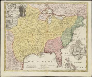 Amplissimae regionis Mississipi seu provinciae Ludovicianae â R.P. Ludovico Hennepin Francisc. Miss. in America septentrionali anno 1687
