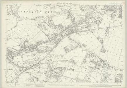 Gloucestershire LXXII.10 (includes: Bristol) - 25 Inch Map