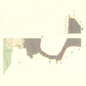 Podolly - m2334-1-004 - Kaiserpflichtexemplar der Landkarten des stabilen Katasters