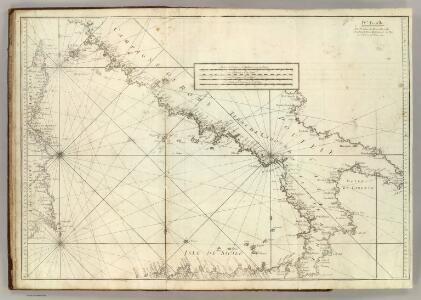 Carte De La Mer Mediterranee.  IV.