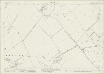 Oxfordshire XLVII.3 (includes: Adwell; Aston Rowant; Lewknor; South Weston; Wheatfield) - 25 Inch Map