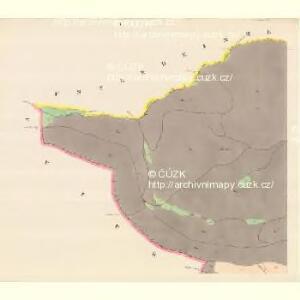 Alt Moletein (Moletin Stary) - m2870-1-001 - Kaiserpflichtexemplar der Landkarten des stabilen Katasters