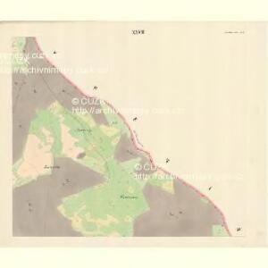Neu Hrosenkau (Nowi Heasenkow) - m2073-1-027 - Kaiserpflichtexemplar der Landkarten des stabilen Katasters