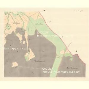 Hostaschowitz - m0849-1-004 - Kaiserpflichtexemplar der Landkarten des stabilen Katasters