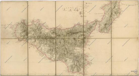 Bez titulu: Mapa střední a jižní Itálie