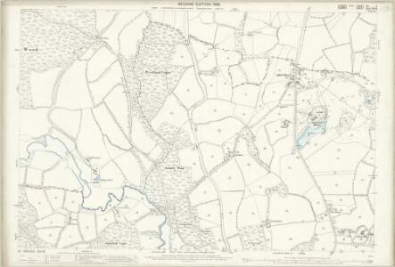 Sussex XII.2 (includes: Alfold; Loxwood; Plaistow) - 25 Inch Map