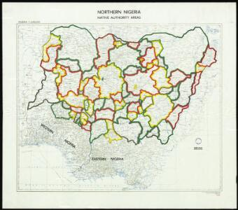 Northern Nigeria: Native Authority Areas