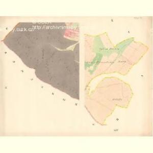 Kobyly - m1226-1-002 - Kaiserpflichtexemplar der Landkarten des stabilen Katasters