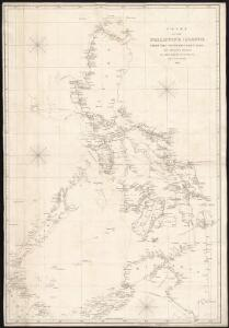 Chart of the Philippine Islands, from the Spanish chart in 1808, the adjacent islands are added from the lastest surveys