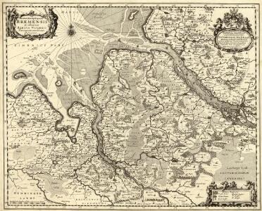 Ducatus olim Episcopatus Bremensis et ostiorum Albis et Visurgis Fluviorum novissima Descriptio