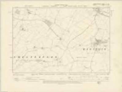Cambridgeshire LX.NW - OS Six-Inch Map
