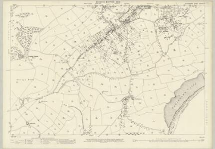 Devon CXXVIII.6 (includes: Brixham) - 25 Inch Map