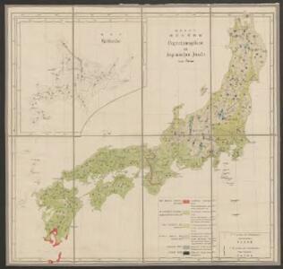 Vegetationsgebiete der Japanischen Inseln