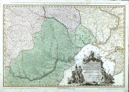 Neueste Karte Von Der Moldau, Walachei, Bessarabien Und Der Krim