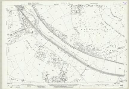 Somerset XIII.3 (includes: Corston; Kelston; Keynsham; Newton St Loe) - 25 Inch Map