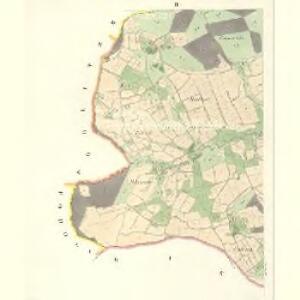 Osnitza - m2209-1-002 - Kaiserpflichtexemplar der Landkarten des stabilen Katasters