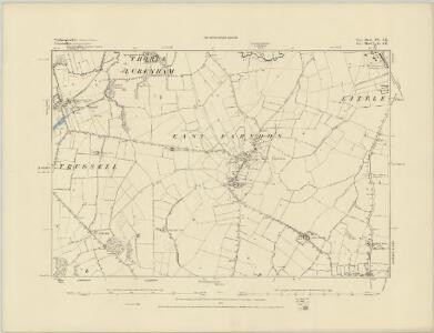 Northamptonshire XIII.NE - OS Six-Inch Map
