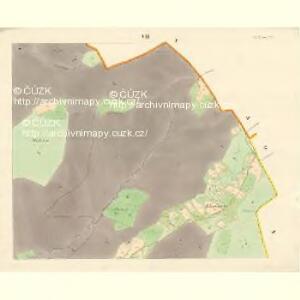 Ober Beczwa (Horny Bečwa) - m0763-1-007 - Kaiserpflichtexemplar der Landkarten des stabilen Katasters